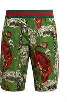 Gucci Bengal-print swim shorts