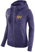 Nike Women's Lsu Tigers Gym Vintage Full-Zip Hoodie