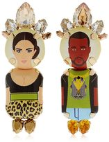Kim & Kanye Clip-On Earrings