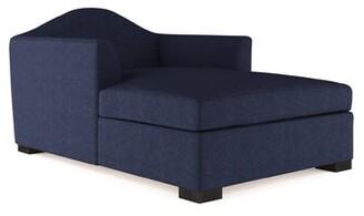 Canora Grey Aughalish Velvet Chaise Lounge Canora Grey Upholstery Color: Plush Velvet Oyster