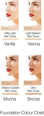 Mirenesse Smooth Nude CC Hydra Makeup Mousse Foundation - Vanilla