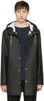 Stutterheim Black Stockholm Raincoat
