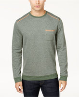 Tasso Elba Men's Stripe Pocket Sweatshirt, Created for Macy's