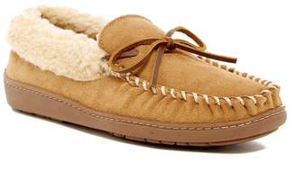 Minnetonka Corey Trapper Faux Fur Lined Slipper (Men)