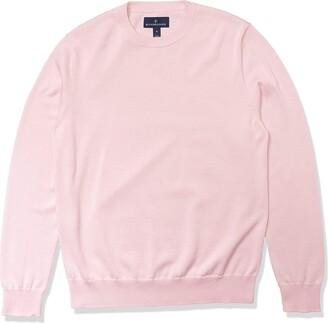 Buttoned Down Men's Standard 100% Supima Cotton Crew Neck Sweater