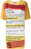 Moschino prescription print shift dress
