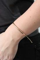 Pura Vida Gold Bar Bracelet in Cream