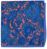 Ted Baker Men's Paisley Silk Pocket Square
