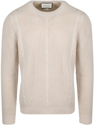 Gucci Gg Cable Sweater