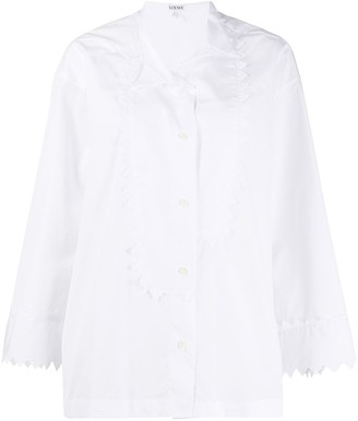 Loewe Oversize Scallop Detail Shirt