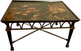 One Kings Lane Vintage Chinoiserie Coffee Table - Von Meyer Ltd. - black/gold