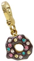 Juicy Couture Chocolate Frosting Cake Donut Charm - Doughnut