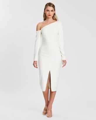Kianna Evelyn Off-Shoulder Dress