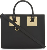Sophie Hulme Albion medium leather box tote