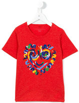 Stella McCartney heart print T-shirt - kids - Cotton - 4 yrs