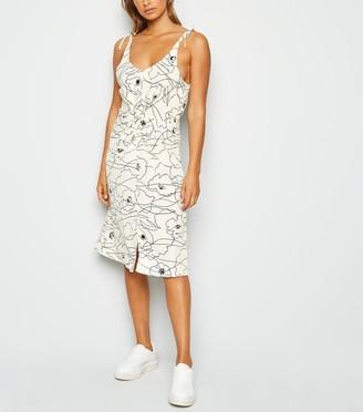 New Look Urban Bliss Abstract Print Dress