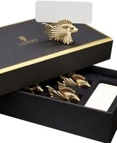 L'OBJET Gold Fish Place Card Holders/Set of 6