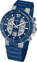 Jacques Lemans Men's Quartz Watch 1-1726C 1-1726C with Rubber Strap