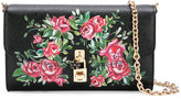 Dolce & Gabbana rose crossbody bag - women - Calf Leather/Metal (Other) - One Size