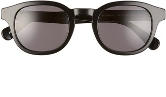DIFF Arlo 49mm Polarized Round Sunglasses