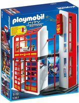 Playmobil Fire Station with Alarm Playset - 5361