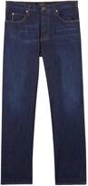 Armani Jeans J21 Dark Blue Straight-leg Jeans