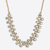J.Crew Factory Crystal bubbles necklace