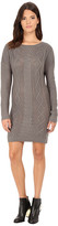 BB Dakota Scout Diamond Cable Stitched Sweater Dress