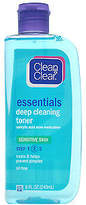 Clean & Clear Essentials Deep Cleaning Toner For Sensitive Skin Step 2 236.0 ml