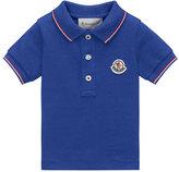Moncler Maglia Tipped Pique Polo Shirt, Size 4-6