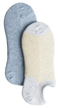 Lemon Women's Beach Sand Ped- Terry Cushion Socks - Pack of 2