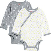Skip Hop Baby Petite Triangles Side Snap Long Sleeve Bodysuit