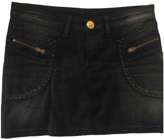 Faith Connexion Black Denim - Jeans Skirt for Women