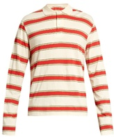 Stella Mccartney Striped Long-sleeved Polo Shirt