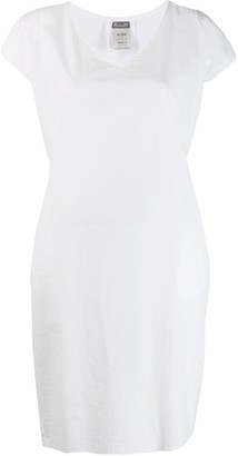 Kristensen Du Nord Short-Sleeve Flared Dress