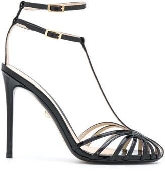 Alevì Strappy Stiletto Sandals