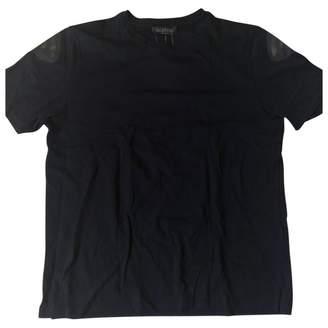 Valentino Black Cotton T-shirts