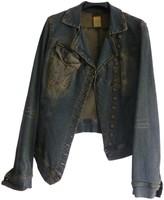 Plein Sud Jeans Blue Denim - Jeans Jacket for Women Vintage