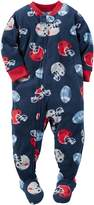 "Carter's Baby Boys' ""Helmet Clash"" Footed Pajamas"