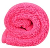 Pet Blanket,Tuscom@ Puppy Cat Mat Soft Fleece Quilt Bed Cushion Pad(38×58CM) (Hot Pink)