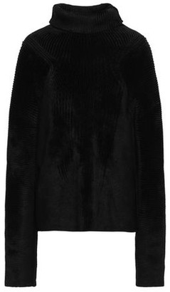 Haider Ackermann Ribbed Chenille Turtleneck Sweater