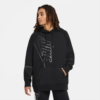 Nike Women's Sportswear Icon Clash Fleece Hoodie