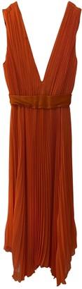 Alice + Olivia Orange Silk Dress for Women