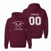 The Creating Studio Adult Hale 00 Hoodie Maroon