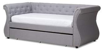 Alcott Hill Lanning Twin Daybed with Trundle Alcott Hill Color: Gray