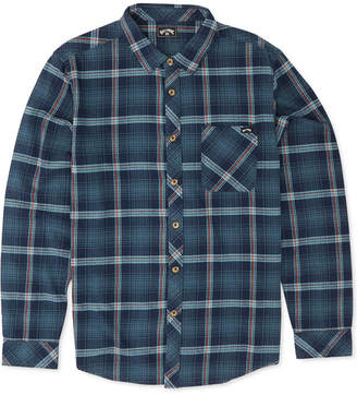 Billabong Men Freemont Stripe Flannel Shirt