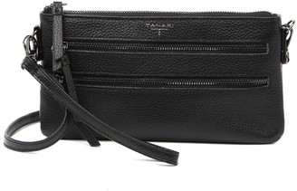 T Tahari Sienna Leather Convertible Crossbody Bag