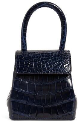 Rubeus Mini Shiny Crocodile Liza Top-Handle Bag