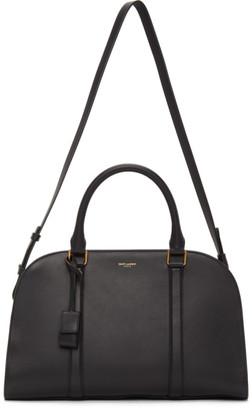 Saint Laurent Black Lock Duffle Bag
