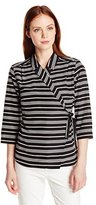 Pendleton Women's Petite Wrap Shirt